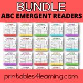 Alphabet Emergent Readers A to Z Bundle