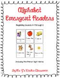 Alphabet Emergent Readers: Beginning Sounds A to E