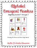 Alphabet Emergent Readers: Beginning Sounds F to J