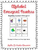 Alphabet Emergent Readers: Beginning Sounds K to O