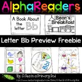 Alphabet Emergent Readers Letter Bb Preview Freebie