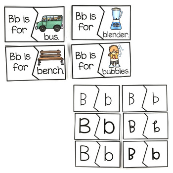 Alphabet Emergent Readers, Response Activities, and Editable Template