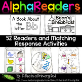 Alphabet Emergent Readers, Response Activities, and Editab