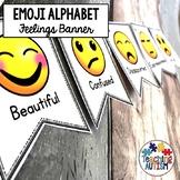 Alphabet Emoji Banner Classroom Decor