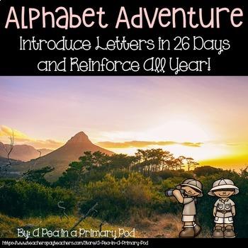 Alphabet Readers, Slide Show, Centers, Journal, Chants, etc. (Endless Bundle)