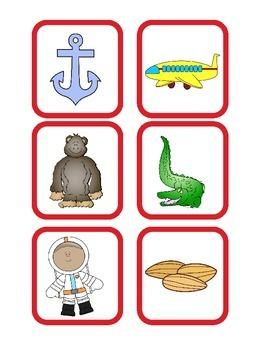 Alphabet Envelopes Aa and Bb