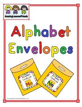 Alphabet Envelopes Letters Mm and Nn