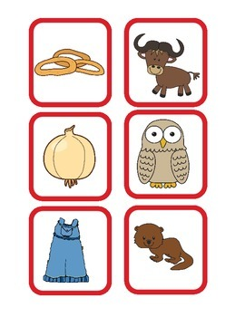 Alphabet Envelopes Oo and Pp