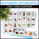 Alphabet Envelopes and Stamps