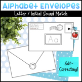 Alphabet Envelopes and Initial Sound Stamps Literacy Activity