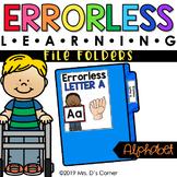 Alphabet Errorless Learning File Folder Activities [26 fil