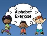 Alphabet Exercise (Lowercase)