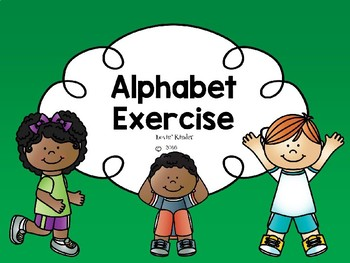 Alphabet Exercise (Uppercase)