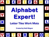 Alphabet Expert - Letter Tile Work Mats