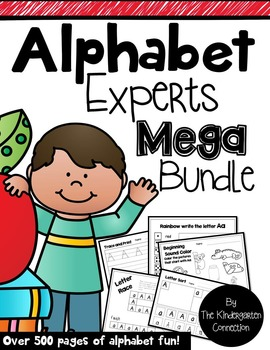 Alphabet Experts - Mega Bundle
