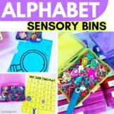 Alphabet Explore Bins | ABC Sensory Bins