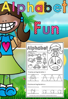 Alphabet write and find