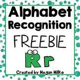 Alphabet FREEBIE: letter Rr