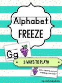 Alphabet FREEZE | 3 Ways to Play!!