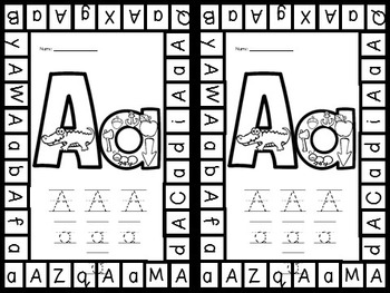 Alphabet FUN: Hole Punch Pages and Clip Cards for Preschool or Kindergarten
