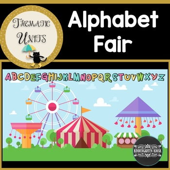 Alphabet Fair Thematic Unit