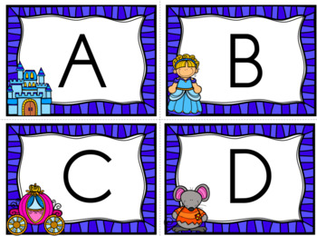 Alphabet Cinderella