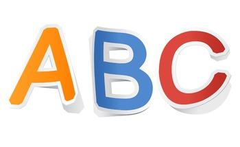 Alphabet File Folder Game - Capital Letters