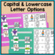 Alphabet File Folder Activities for Special Education - Errorless Match