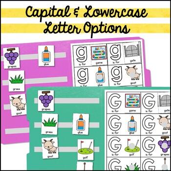 Alphabet File Folders: Interactive Beginning Sound Activities (Identical Match)