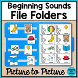 Alphabet File Folder Activities for Special Education - Identical Match