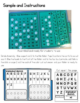 Alphabet File Folders- Letters and Beginning Sounds