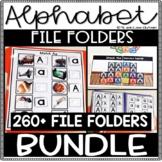 Alphabet File Folders with Real Photos BUNDLE