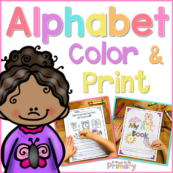 Alphabet Coloring Book