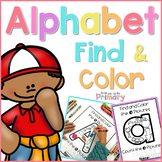 Alphabet Find & Color