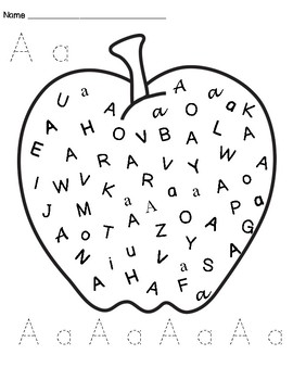 Alphabet, Find, Color and Trace Sheets!