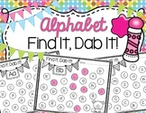Alphabet Find It, Dab It!