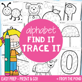Letters of the Alphabet Worksheets