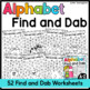 Alphabet Find and Dab