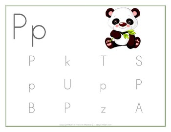 Alphabet: Find the Letters