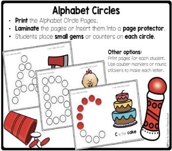 Alphabet Dots Fine Motor Practice