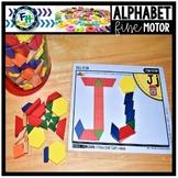Alphabet Fine Motor Pattern Block Mats