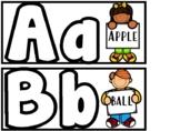 Alphabet Fine Motor Play-dough Activity