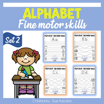 Alphabet Fine Motor Skills Set 2