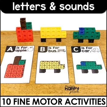 Alphabet Fine Motor Skills Task Boxes