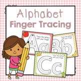 Alphabet Finger Tracing: Preschool Letters of the Week