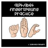 Alphabet Fingerspelling Practice