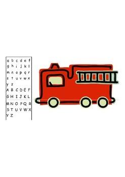Alphabet Firetruck