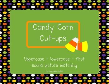 Alphabet & First SoundCandy Corn Cut-ups