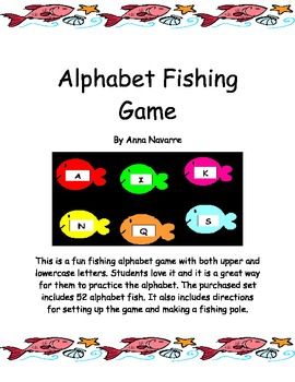 Alphabet Fishing Game