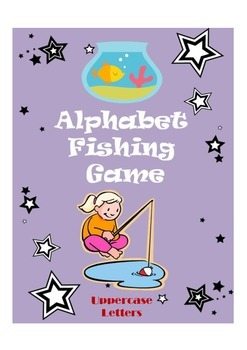 Alphabet Fishing Game (Uppercase Letters)